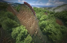 Dolly Parton Reveals World's Fastest Wooden Roller Coaster Coming to Dollywood in 2016 - Nash Country Weekly Castaway Cove, Best Roller Coasters, Six Flags Great Adventure, Shanghai Disney Resort, Universal Studios Japan, Ferrari World, Kings Island, Lightning Rod, Tivoli Gardens