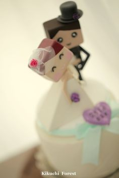 bride and groom wedding cake topper Handmade,Handcrafted wood dolls