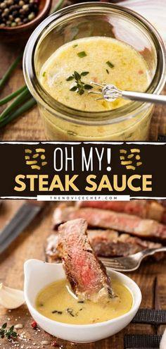 """Oh My!"" Steak Sauce"