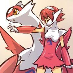 Latias Pokemon and Human Form