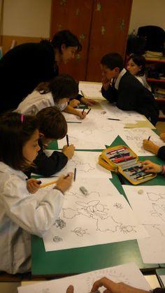L'arte di guardare per vedere. Orientamento per la creazione plastica. Vallgrassa i escola l'escola de BORGONA de Porto Torres (It)Borgona