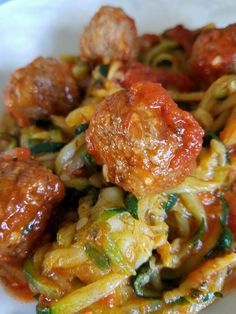 BossDeals.Online must try keto recipes for fast weight loss. Low Carb Zucchini Spirals and Mini Meatballs