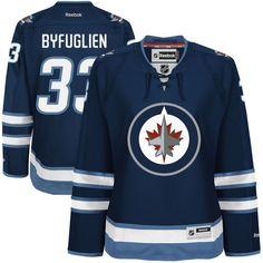 Dustin Byfuglien Winnipeg Jets Reebok Youth Home Premier Jersey - Navy Blue