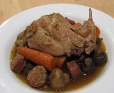 rabbit andouille sausage stew rabbit stew 1 save