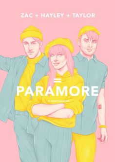 Paramore fan art by paintparamore on Instagram. To buy prints visit the store on big cartel