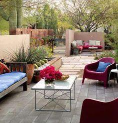 Rôarteira®: Casa com quintal decorado......meu sonho