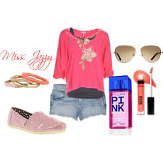 """Created by my 11 year old....She loves this site too"" by cindycook10 on Polyvore"