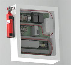 ARMANfire – performanta in protectia la incendiu SISTEM 2-1 – autodetectie si stingere localizata PROTECTIE 24H/365 Zile - non-stop, de sine-statatoare, fara supraveghere