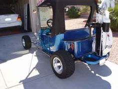 bull the world s catalog of ideas this t bucket electric golf cart is the real deal