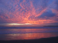 Sunset on Coronado Island-When my two oldest children were little, we went here every summer.  Great memories!