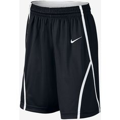 Nike Front Court Girls' Basketball Shorts (39 CAD) ❤ liked on Polyvore