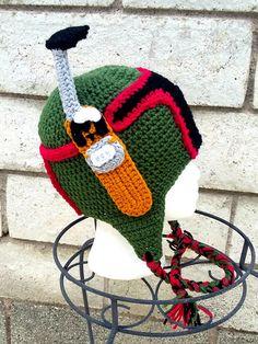 boba fett helmetboba fett costumehalloween by Handmade75 on Etsy