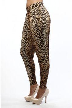 Leopard HAREM PANTS