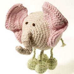 Organic Baby Toy Squishi Elephant baby shower