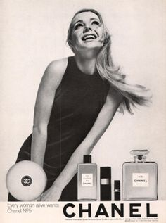 1968 Chanel No 5 Perfume Every Woman Alive Ad - http://adaholic.com/shop/1968-chanel-no-5-perfume-every-woman-alive-ad/