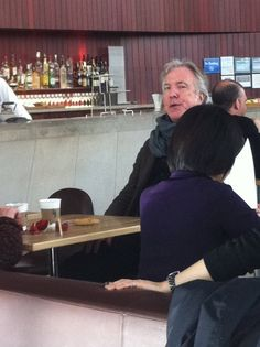 nightclubflunkie:    Did I ever tell you guys about the time I was a horrible little fan girl when I saw Alan Rickman in a cafe in New York City?      Bless this post.
