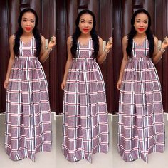 Creative aso ebi styles 2016 and 2017 new African Dresses For Women, African Print Dresses, African Print Fashion, African Wear, African Fashion Dresses, African Women, Fashion Outfits, Nigerian Fashion, African Prints