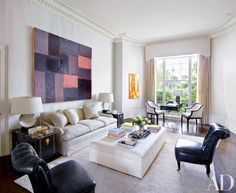 Veere Grenney Associates SEE MORE: http://www.bykoket.com/blog/top-designers-best-interior-design-projects-by-the-100-architectural-digest-list/