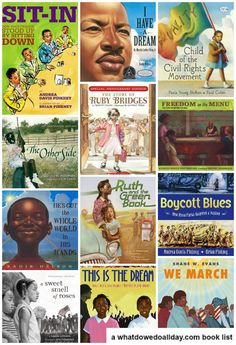 13 Civil Rights picture books for MLK day. Some choices are good for kids as young as Start a conversation with your kids about civil rights! Class Library, 4th Grade Reading, Mentor Texts, Reading Rainbow, Teaching Kids, Teaching History, Children's Literature, Picture Books, Read Aloud