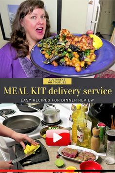 MEAL KIT delivery service - Easy Recipes for Dinner REVIEW Have you tried meal kits? Time to put my trial meal kit delivery service to the test! ? I did a video of my recipe prep see it HERE https://youtu.be/P1sOYzJTkYk #video #YouTube #mealkit #mealprep #healthymeals #cooking