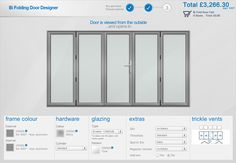The Bi Fold Door Designer