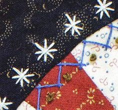 Embroidery & Patchwork Revisited by Janice Vaine - ConnectingThreads.com