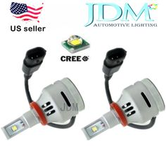 JDM ASTAR 4TH Generation 2000 Lumen All in one 9005 HB3 Cree XM-L2 LED Headlight #JDMASTAR