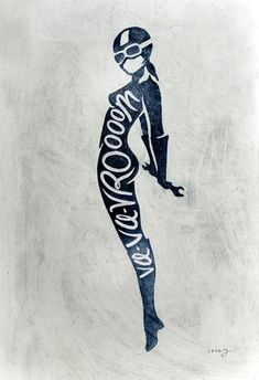 Motorcycle Pin Ups by Matylda Mcilvenny, via Behance #illustration #typography
