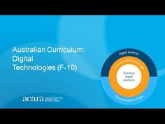 Introduction to the Australian Curriculum: Digital Technologies. Members of the Digital Technologies Advisory Group discuss the features of the curriculum. Technology Design, Digital Technology, New Technology, Gadgets For Dad, Newest Gadgets, St Andrews School, Image Film, Purpose Driven Life, 21st Century Learning