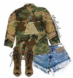 Camo and Booties