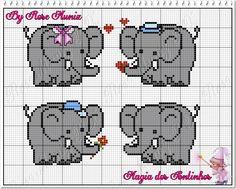 Elephant Cross Stitch, Butterfly Cross Stitch, Crochet Elephant, Baby Elephant, Pixel Crochet Blanket, C2c Crochet, Baby Cross Stitch Patterns, Crochet Patterns, English Alphabet Letters