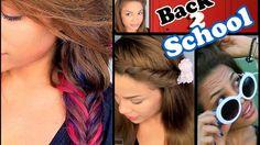 Andreaschoice'nın 6 Kolay Okul Saç Stilleri Nasıl Yapılır - Düğün, mezuniyet balosu, kutlama vb özel anlarınızda pratik şekilde uygulayabileceğiniz yeni trend saç modelleri, saç örgü modelleri, saç toplama teknikleri, en güncel kısa ve uzun saç modellerini sizler için biraraya getirdik. Güzel görünmek ve mükemmel saçlar için videomuzdan ilham alarak bir kaç deneme ile istediğiniz sonuca ulaşabilirsiniz.