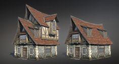 3d model of Fantasy House 07  http://www.turbosquid.com/FullPreview/Index.cfm/ID/1057484?referral=Sergey_Ryzhkov