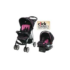 Graco Baby Stroller Car Seat Travel System Infant Toddler Pink   Product Description   With this Graco Baby Stroller Travel System and Car Seat you ... #infant #toddler #carriage #pink #system #travel #baby #stroller #seat #graco
