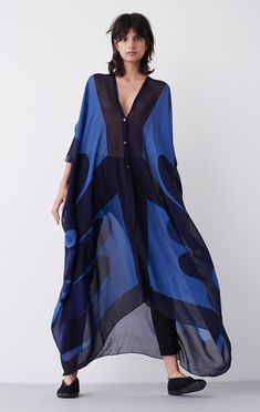 Rodebjer Caftan Agave Geometric