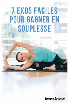 7 exos faciles pour gagner en souplesse - Body Workouts For Cutting Body Fat - The Best Exercises for a Full-Body Workout Yoga Fitness, Yoga Gym, Fitness Tips, Fitness Plan, Fitness Exercises, Barre Workout, Cardio, Yoga Fashion, Yoga Inspiration
