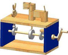 Resultado de imagem para mechanical wood toys
