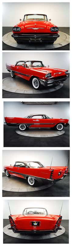 1957 DeSoto Fireflite Sportsman 2-Door Hardtop, I like old school cars so any classic vehicle with ref would work