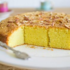 Sfoof - Vegan Lebanese Yellow Tea Cake recipe on Food52