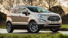 I hated the EcoSport when the last model came out in 2012 Ford promoted it at that time as one of their world cars Latest 2018 Ford EcoSport Titanium. Ford Ecosport, Car Ford, Ford Trucks, Cars, Style, Motorbikes, Swag, Autos, Car