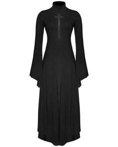 Punk Rave Crucifix Maxi Dress - L-XL                                                                                                                                                                                 More