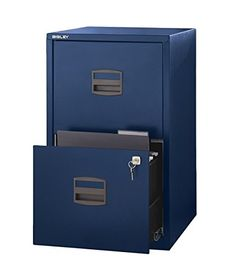 Bisley Two Drawer Steel Home Filing Cabinet, Navy Blue (F... https://www.amazon.com/dp/B01D6JXATO/ref=cm_sw_r_pi_dp_x_oIJeAbX0P336X