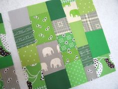 Craft Tutorials Galore at Crafter-holic!: Asymmetrical Patchwork Quilt