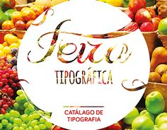 """Check out new work on my @Behance portfolio: """"Catálogo de tipografia """"Feira…"""