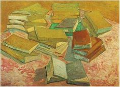 Vincent Van Gogh, French Novels, 1888 - I never knew this existed??!!  How wonderful!