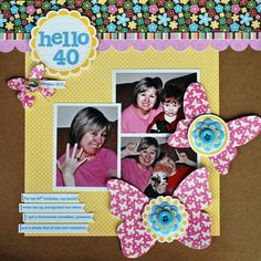 Hello 40 by Aphra Bolyer featuring Coconut Lime Soup from Jillibean Soup - Scrapbook.com