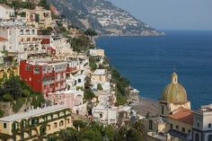 one of my favorite places, Positano.