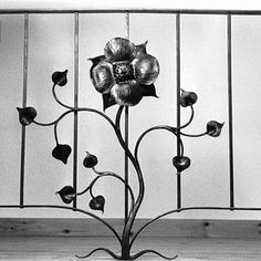 Rose Railing by Rising Sun Forge