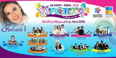 Feria Xicotepec 2015 : Programa