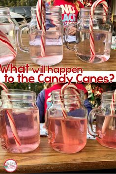 Experiments such as this are fun and educational for students. This one is also a good winter themed one for one of those last days before winter break. experiments Christmas Science with Candy Canes Easy Science Experiments, Science For Kids, Science Activities, Science Labs, Science Fun, Cannes, Winter Thema, Second Grade Science, Elementary Science